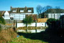 The Doom Pottery in 2000, a few years before it was covered