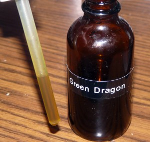 Green Dragon cannabis indica tincture