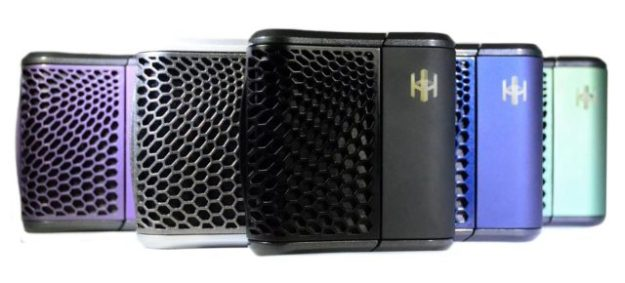 Haze V3 vaporizer in colors