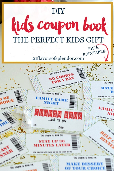 Free Printable Kids Coupon Book The Perfect Gift Beyond Committed