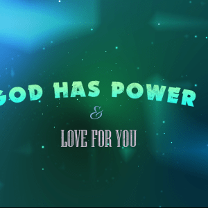 God Is Power Video Background Pack
