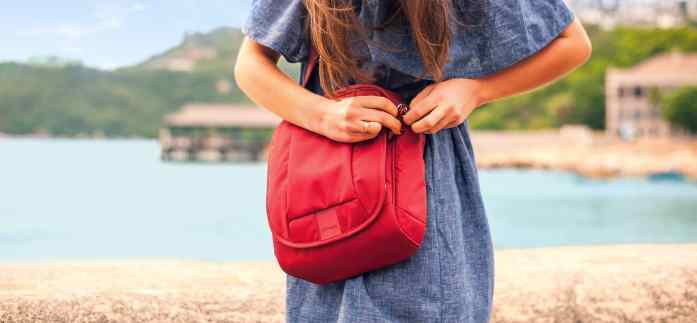 anti-theft zippers