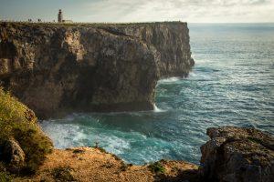 sagres headland cliffs portugal algarve