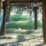 Unde the Pier in San Clemente