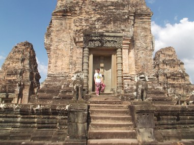 14. East Mebon – this pyramidal temple was once surrounded by water that was 10 feet deep. At each cardinal direction is has stairways that were once submerged leading to platforms that were once boat landings.