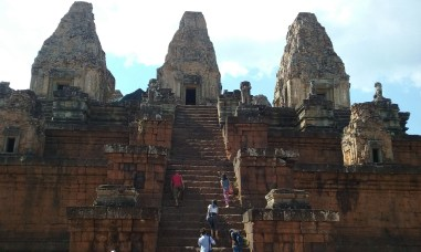 15. Pre Rup – consecrated in 961, Pre Rup was a state temple and is a step pyramid, temple mountain.