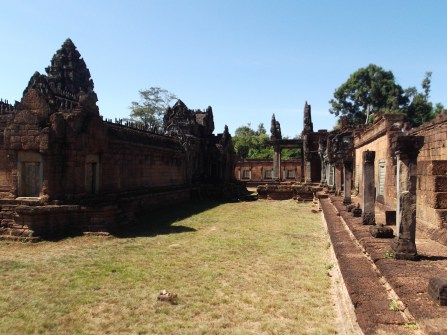 21. Banteay Samre – a citadel built in the early 12th century surrounded by 20-foot-high walls.