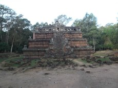 4. Phimeanakas – a temple with two ponds nearby that may have once house a golden linga (fertility symbol).
