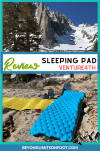 VENTURE 4TH Ultralight Sleeping Pad Review