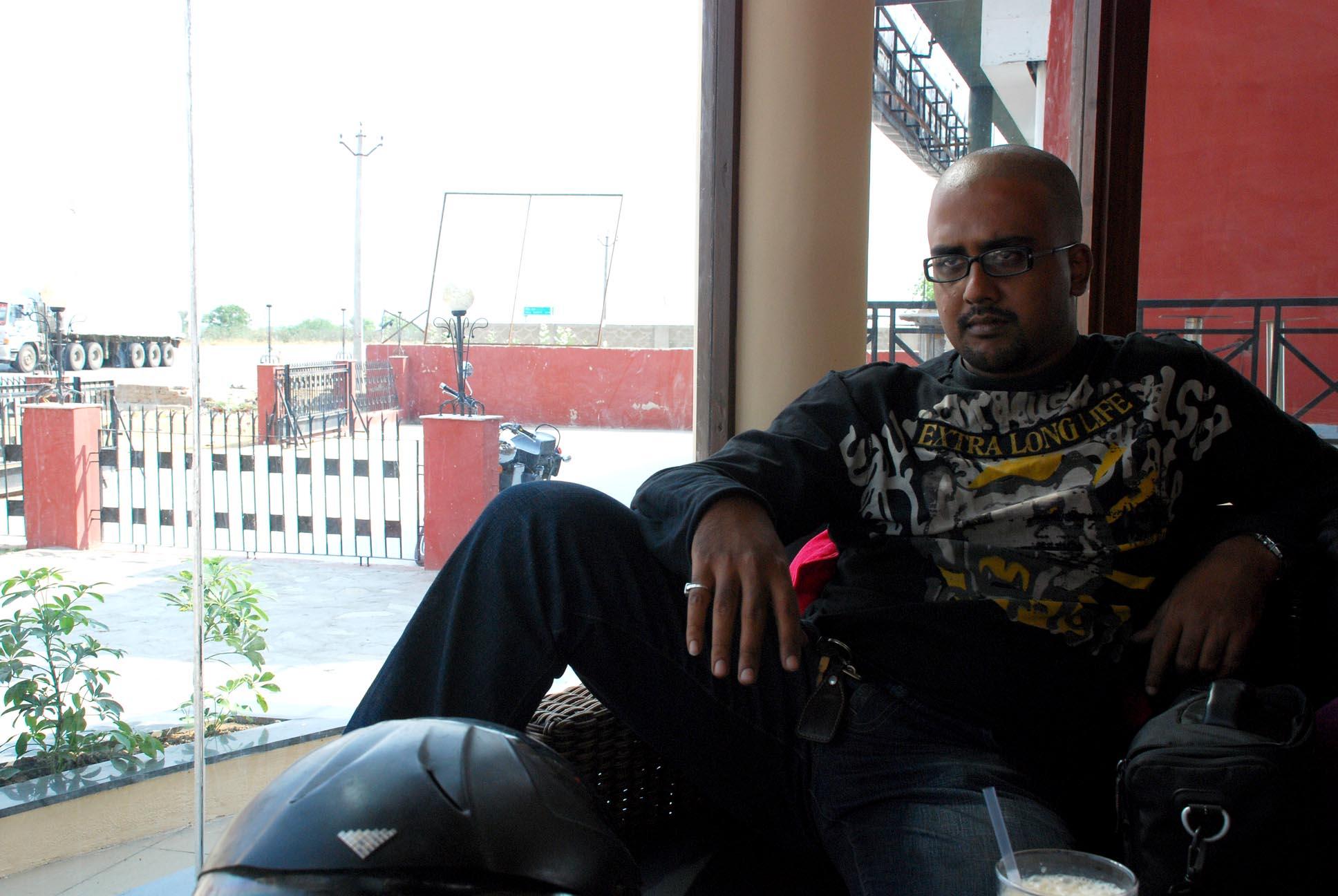 Me in 'Aamir's kinda place'
