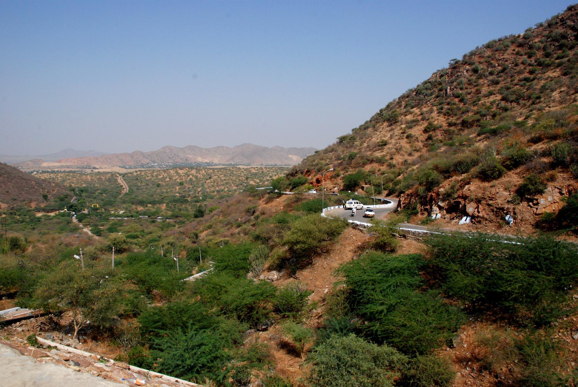 The road to Pushkar!