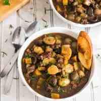 Pressure-Cooker Lamb Stew Provencal
