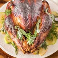Herb and Apple Brined Turkey