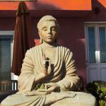 Buddha statue in Santa Monica