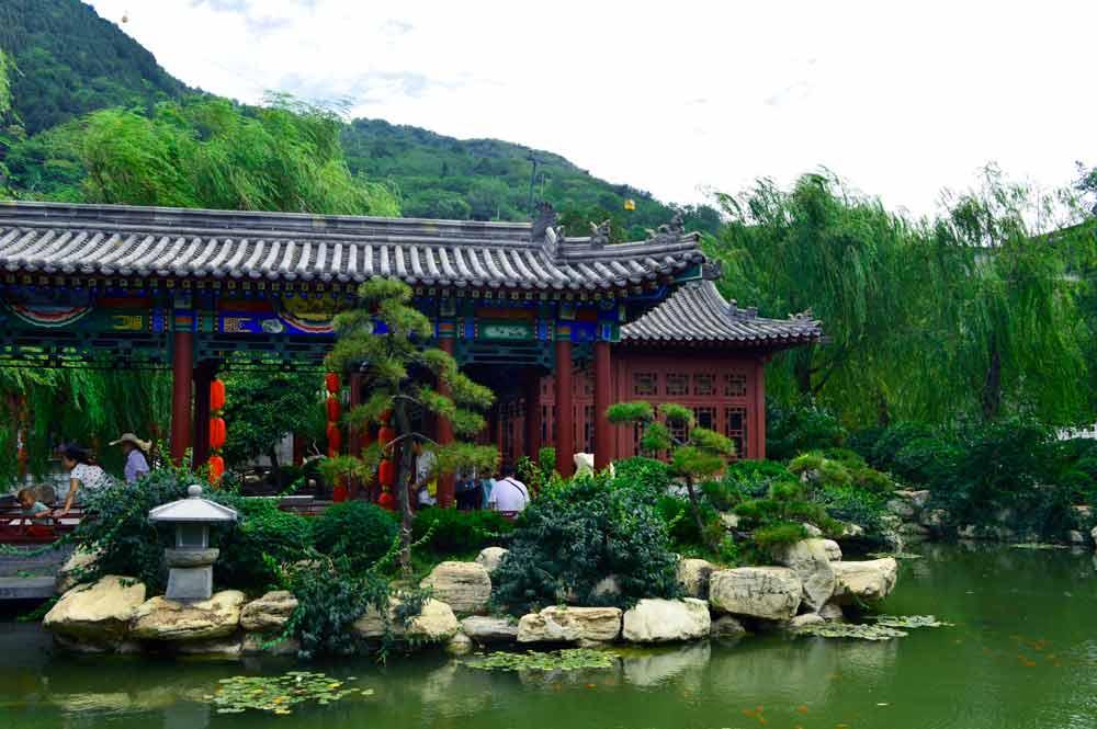 Beautiful Huaqing Chi in Xi'an