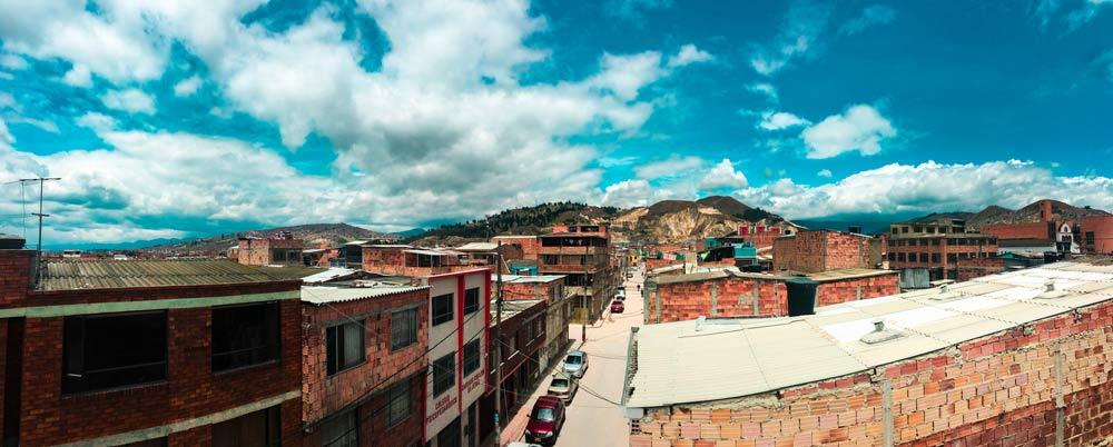 Soacha Streets, Bogota, Colombia