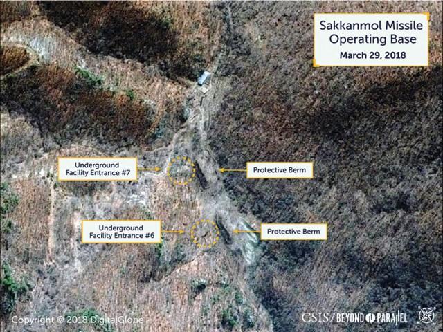 Undeclared North Korea The Sakkanmol Missile Operating Base
