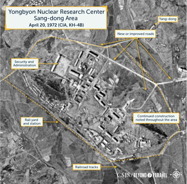 Yongbyon Nuclear Research Center Sang-dong Area