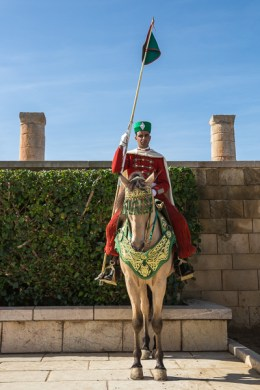 Horse Guard at Mausoleum of Mohammed V