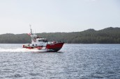 The Coast Guard in a hurry