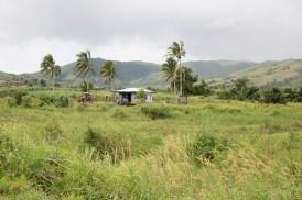 Typical Fijian countryside.
