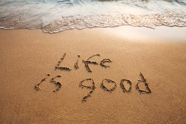 "LIVING THE ""GOOD LIFE"" BEYOND RETIRING"