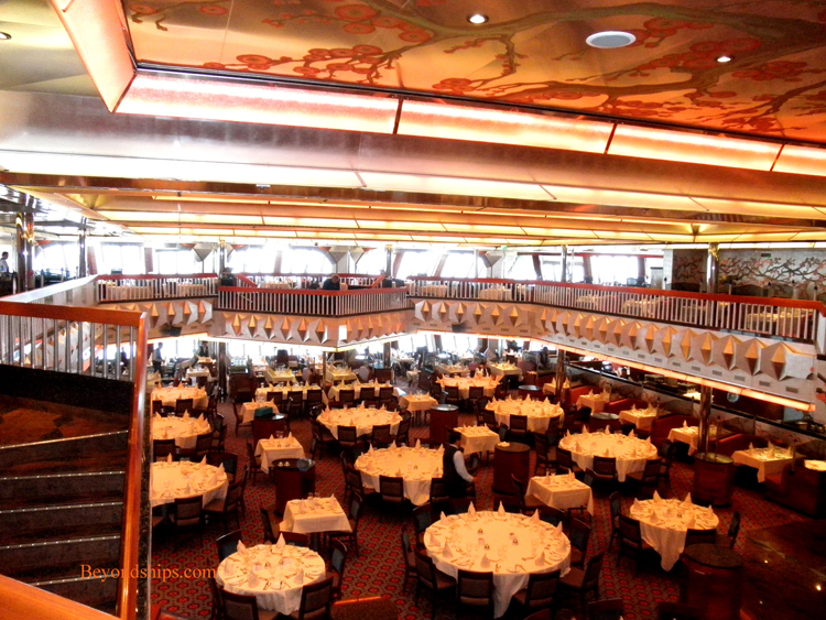 Carnival Glory Main Dining Rooms Menu 1