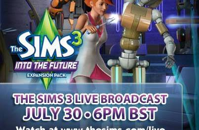 The Sims Live Broadcast (30th July 2013)