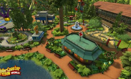 New RollerCoaster Tycoon World Screenshots