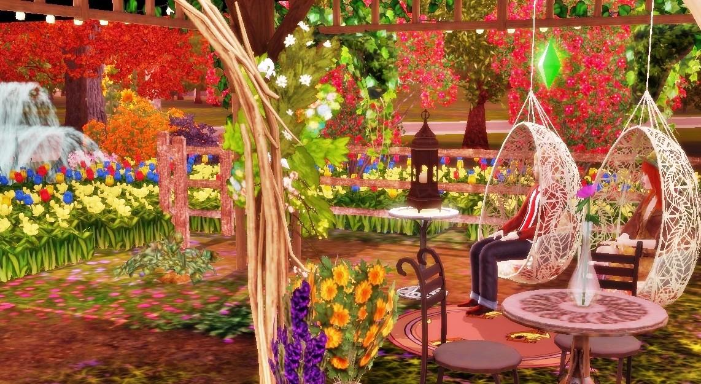 Sims 3 Store Bohemian Garden Set Review Beyond Sims