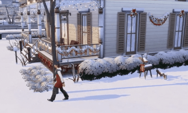 Three New GIFs Show Off Seasons in The Sims 4