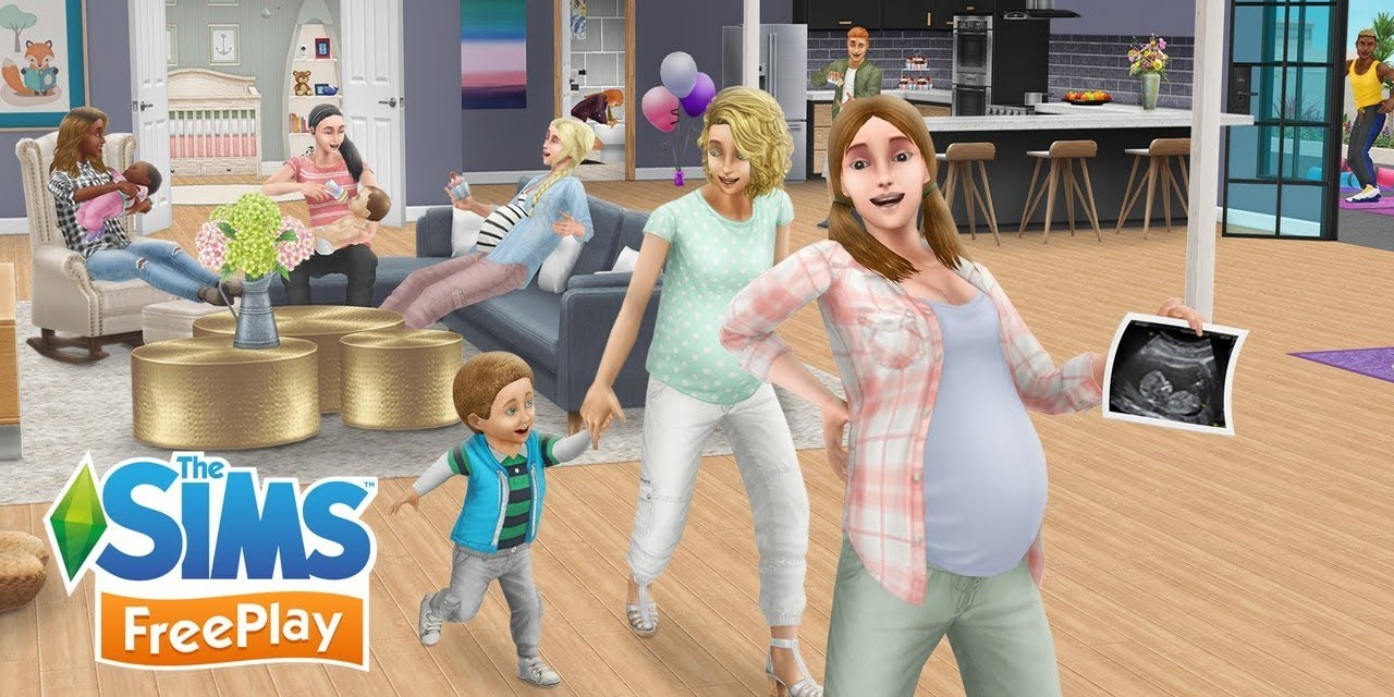 Pregnancy Update Trailer Arrives for The Sims FreePlay