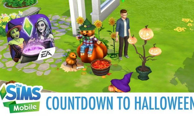 Countdown to Halloween Quest Now Live in The Sims Mobile