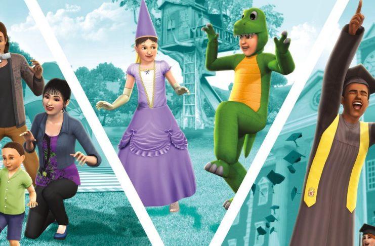 The Sims 3 Generations Keyart