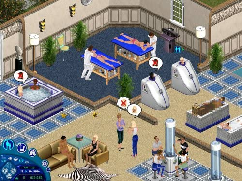 Spa in The Sims Superstar