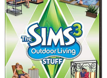 The Sims 3 Outdoor Living Stuff Pack – Available in stores today!