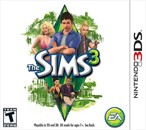 The Sims 3 for Nintendo 3DS launches worldwide this week