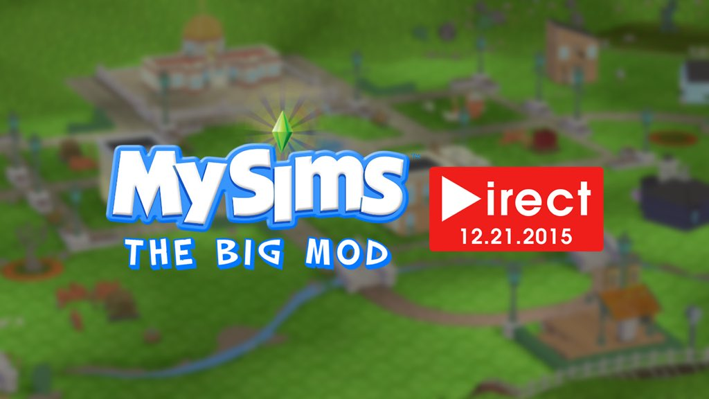 """""""The Big Mod Direct"""" for MySims Being Held December 21"""
