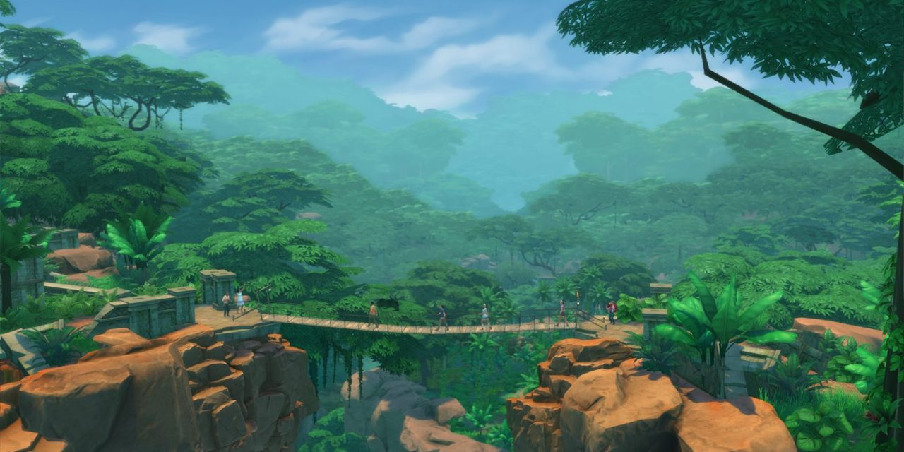 New Video Preview for The Sims 4 Jungle Adventure Game Pack