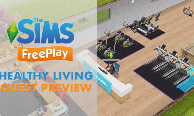 Early Access Preview of the Health Hub in The Sims FreePlay