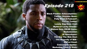 Black Panther Autocomplete Interview & The AI Apocalypse