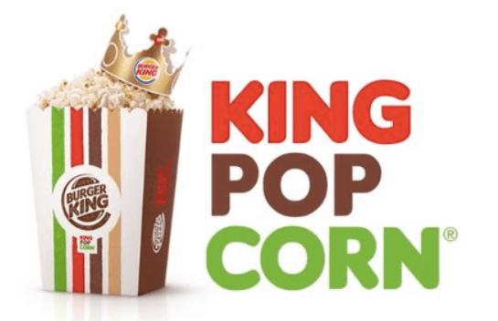 Burger King Popcorn Whopper