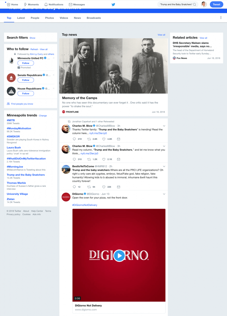 Screenshot: DiGiorno's Promoted Tweet