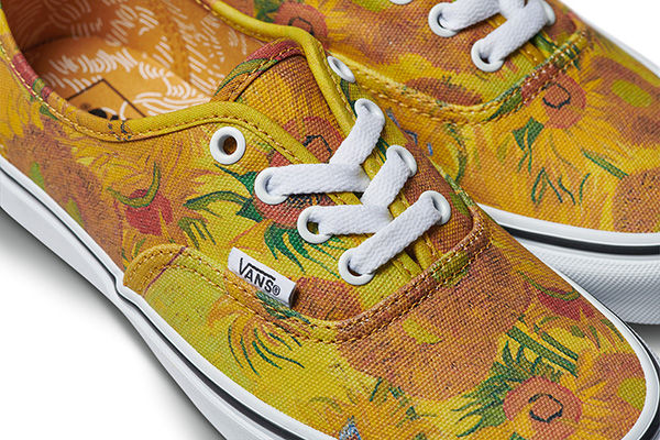 Photo: Vans - Van Gogh Sunflower Shoes