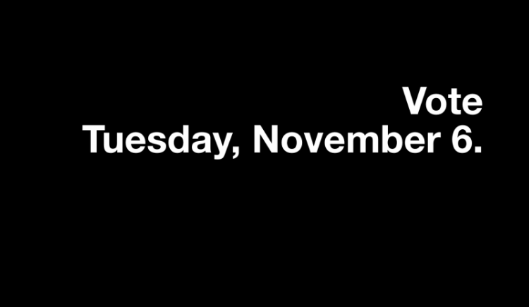 Non-partisan voter registration in advance of US elections.