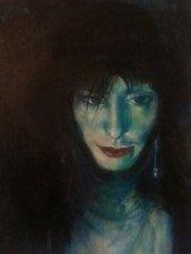 Gratuitous Selfie. Oil on canvas.