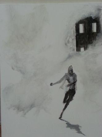"""""""Resistance II"""" Oil on canvas By Cat Jones"""