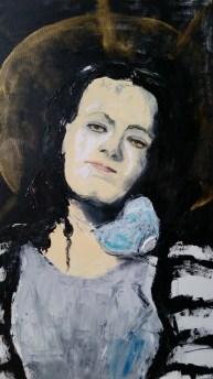 Maalox Madonna. Oil on canvas. (SOLD)