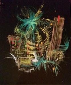 "Las Vegas 16"" x 20"" Oil on canvas"