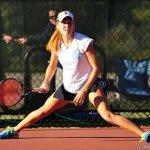 female tennis professional